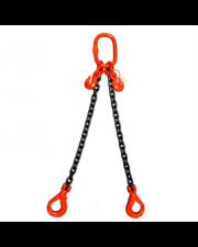 10MM - 2 Leg Chain Sling - SWL 4.25t