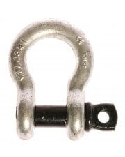 Blue Pin Screw Pin Bow Shackle